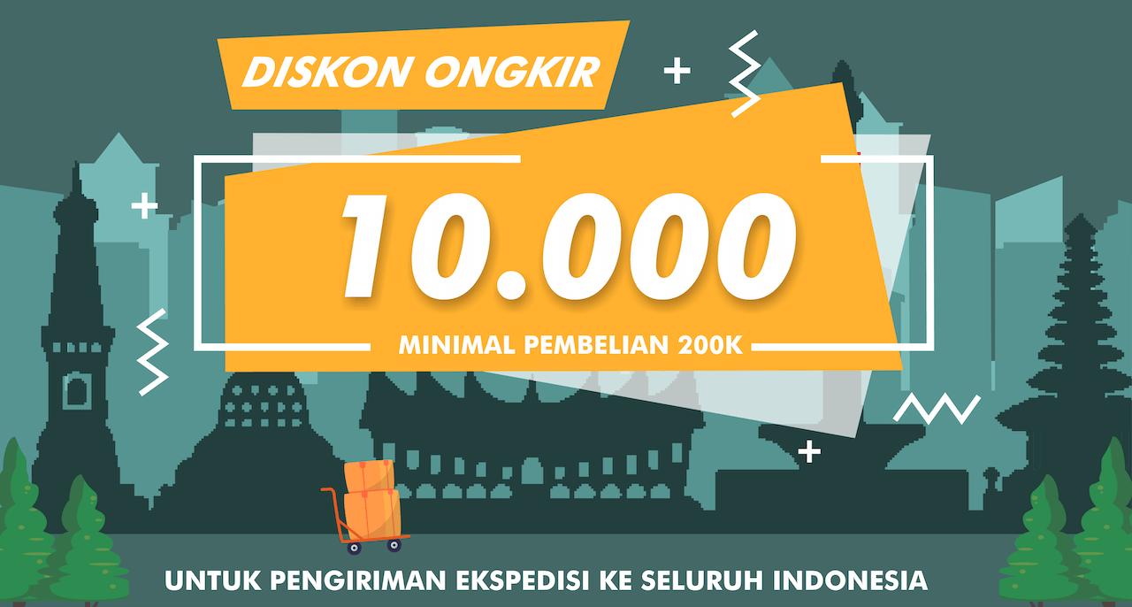 Promo Ongkir Seluruh Indonesia
